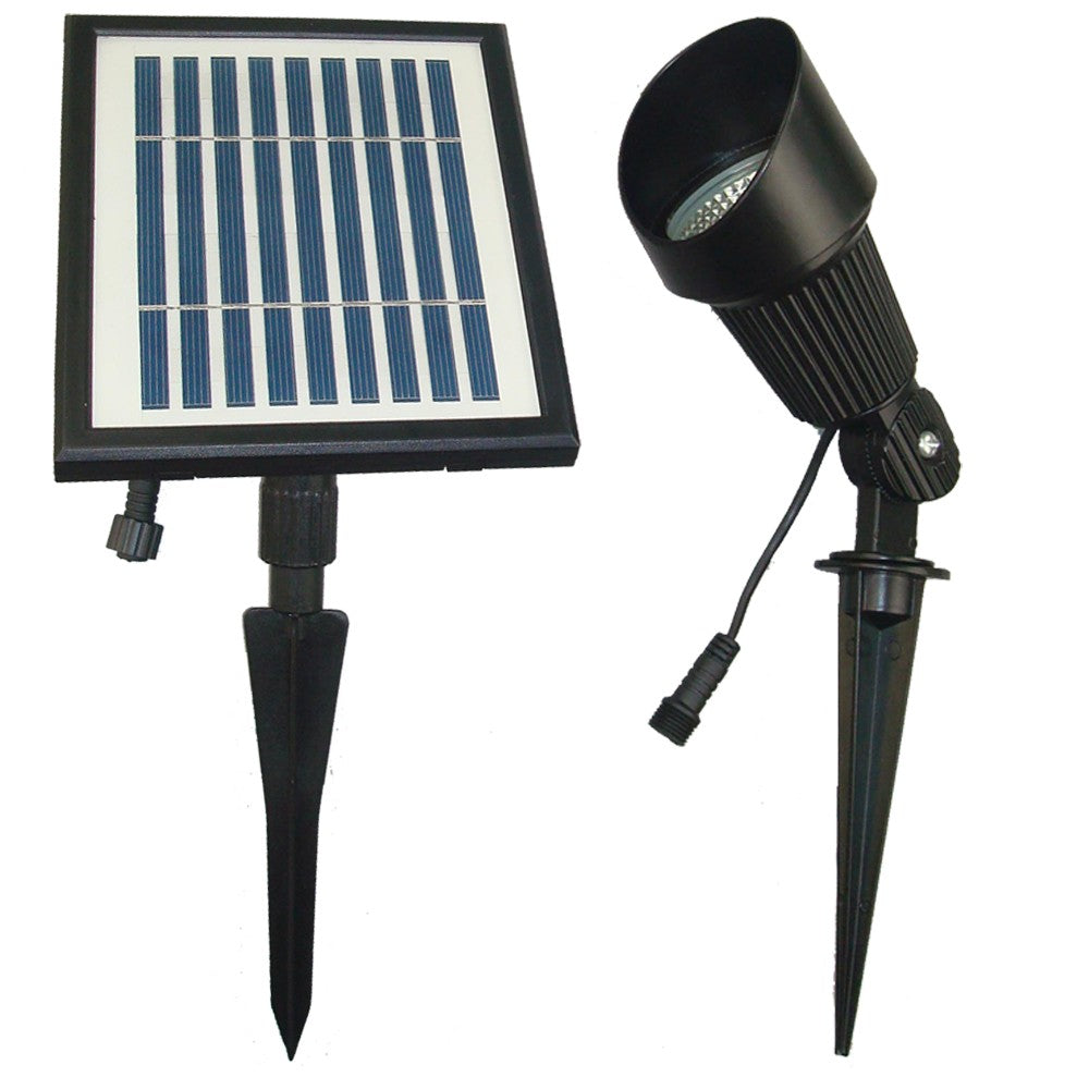 Solar Goes Green Solar LED Spot Light, Single-Head