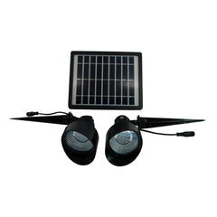 Solar Goes Green Solar LED Spot Light, Dual-Head