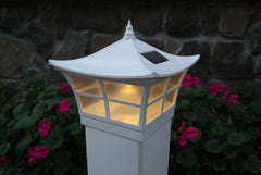 Classy Caps Ambience Solar Post Light, 5