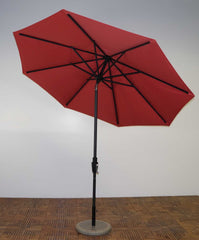Shade Trends 9 x 8 Premium Market Umbrella with 360 Auto Tilt Crank Lift
