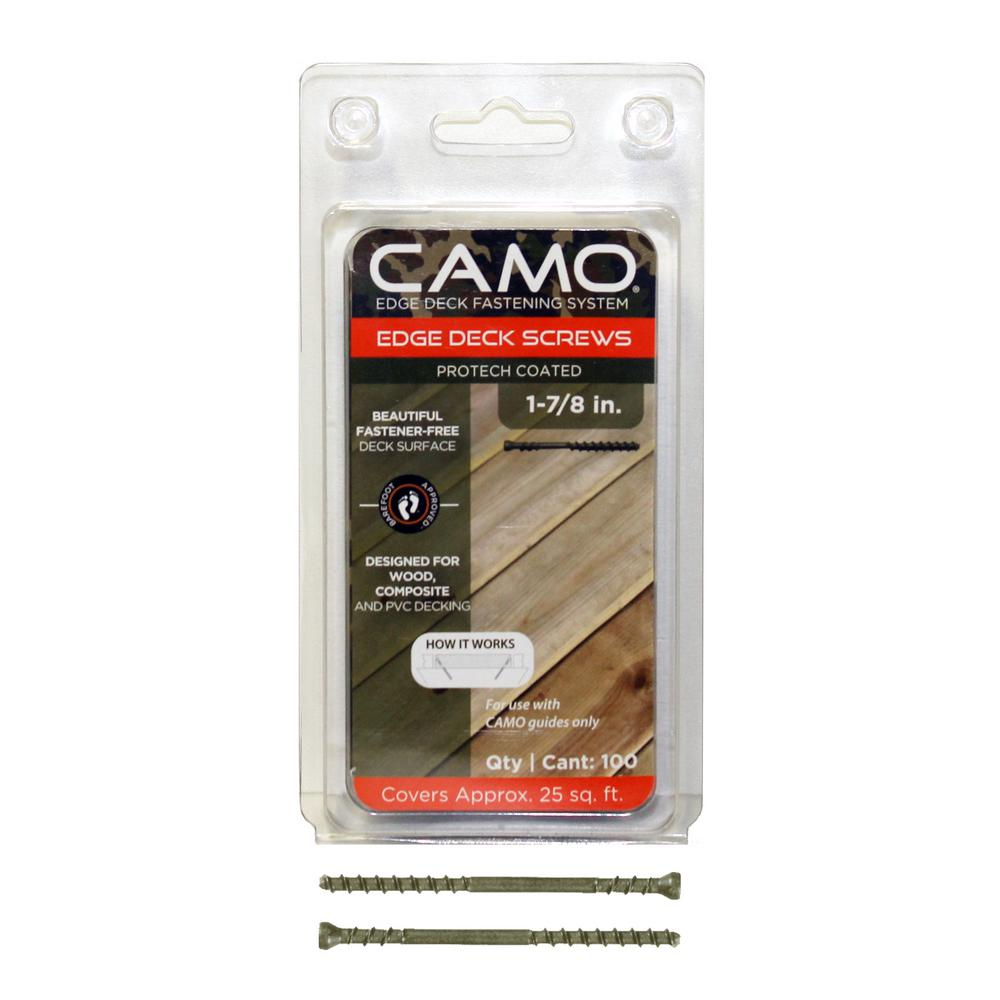 "Camo Trimhead Screws 1-7/8"" ACQ Compatable"