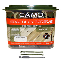 Camo Trimhead Screws 1-7/8