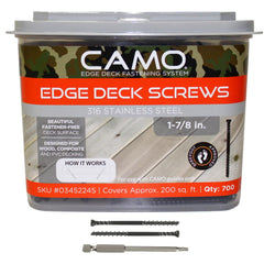 Camo Stainless Trimhead 2-3/8