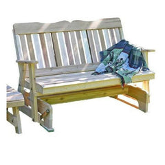 Creekvine Designs Cedar Countryside Rocking Glider & Table Set