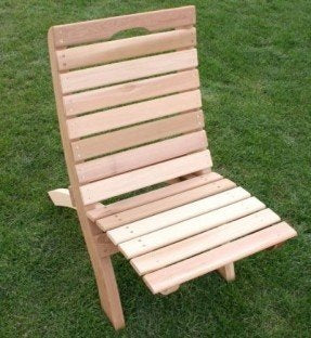Creekvine Designs Cedar Traveling Style Folding Chair
