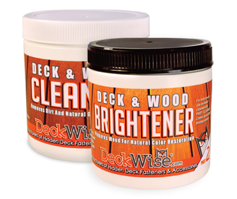 DeckWise Wood Deck Cleaner & Brightener