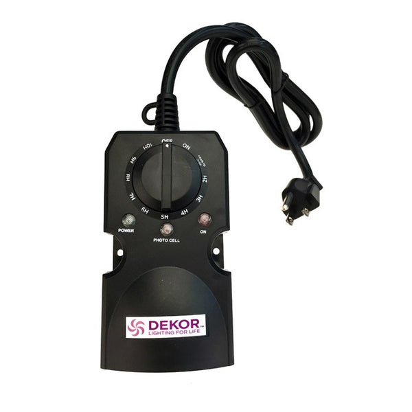 Dekor EZTIMER Waterproof Photocell Timer
