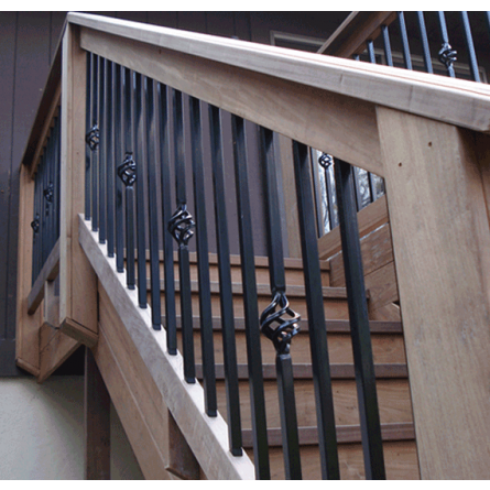 "Fortress 32"" Mega Square Single or Double Basket Baluster"