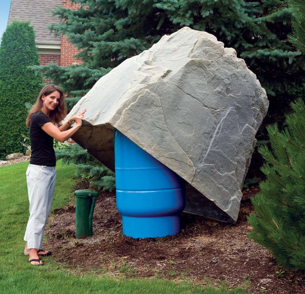 "DekoRRa Artificial Rock Cover, Model 114, 63""x 48""x 61"""