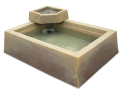 DekoRRa Garden Box & Water Basin , Model 210, 62