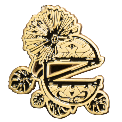 Evasion Flower Pin - Limited Edition Gold