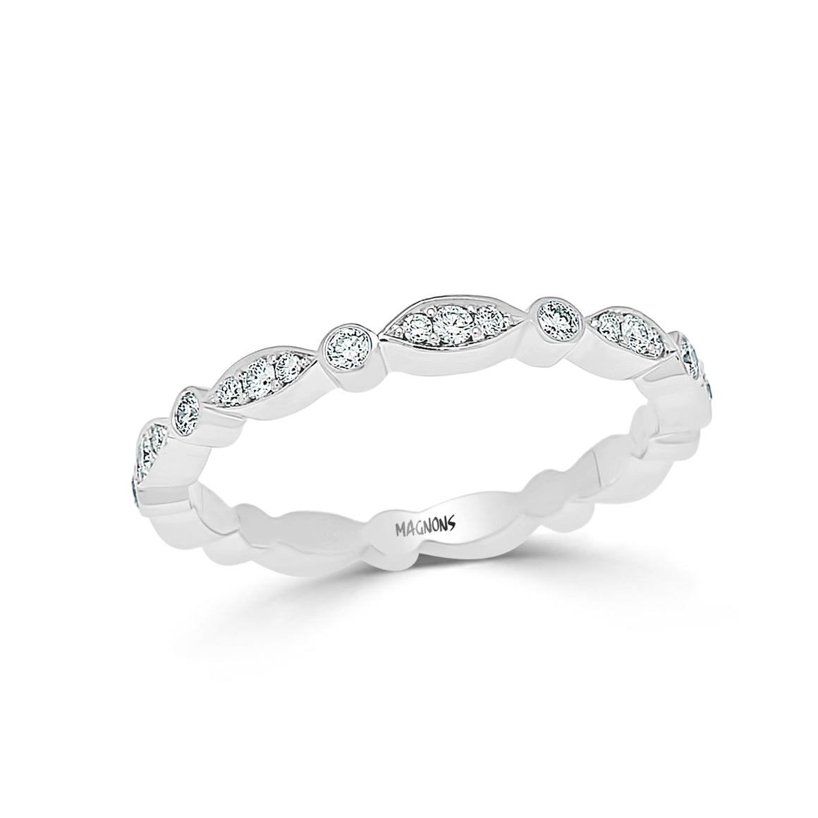 CANADIAN DIAMOND ETERNITY WEDDING BAND