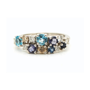 GEMSTONE DIAMOND RING