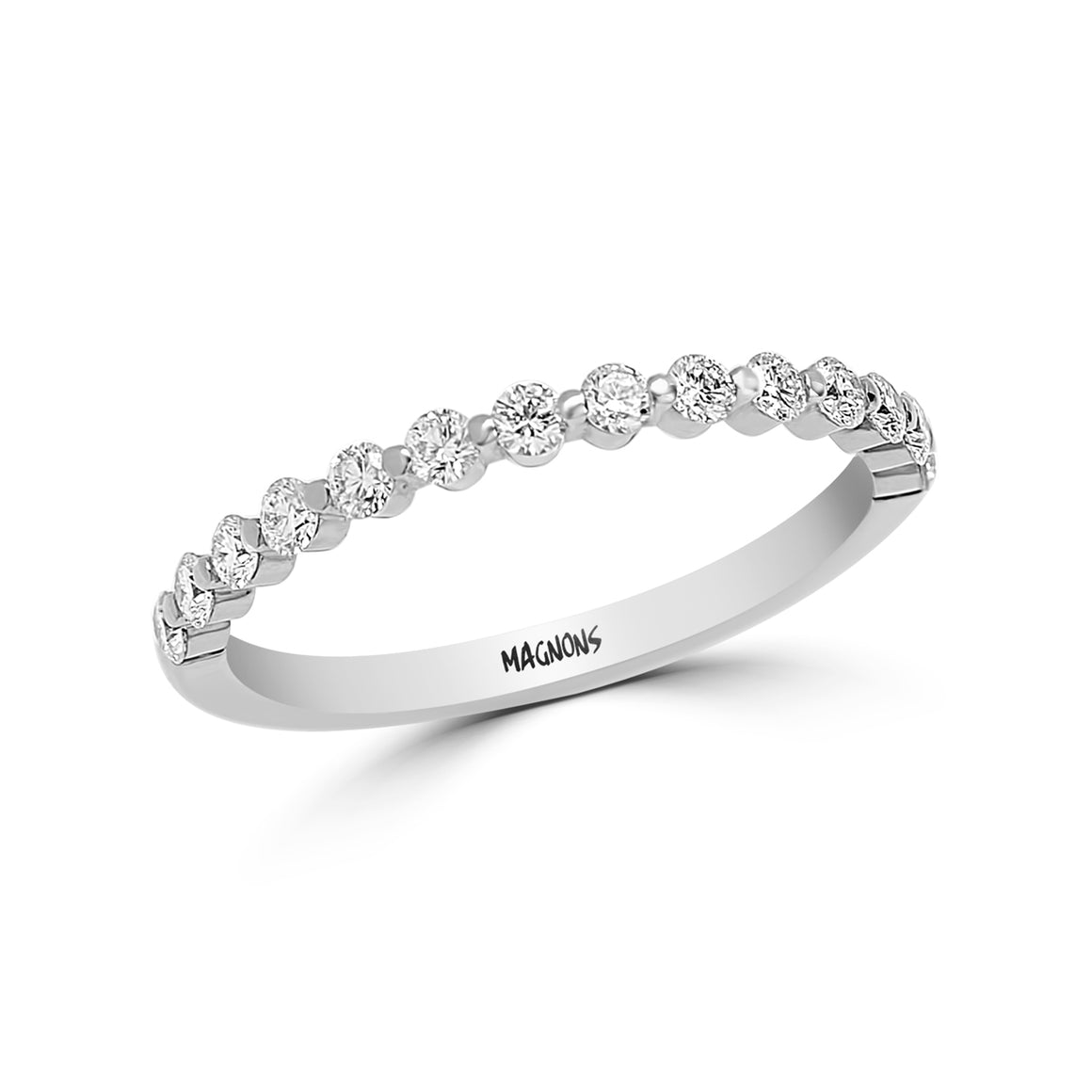 NATURAL DIAMOND WEDDING BAND