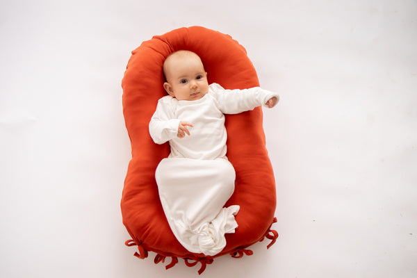 Merino Wool Nesting Pod 3-in-1 with Warm Sunset cotton covers (lead time 2-3 weeks)