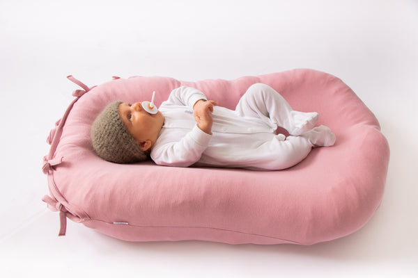 Merino Wool Nesting Pod 3-in-1 with Dusty Rose covers (lead time 2-3 weeks)