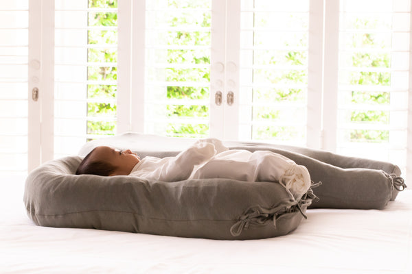 Merino Wool Nesting Pod 3-in-1 with Wild Sage organic cotton & hemp covers (lead time 2-3 weeks)