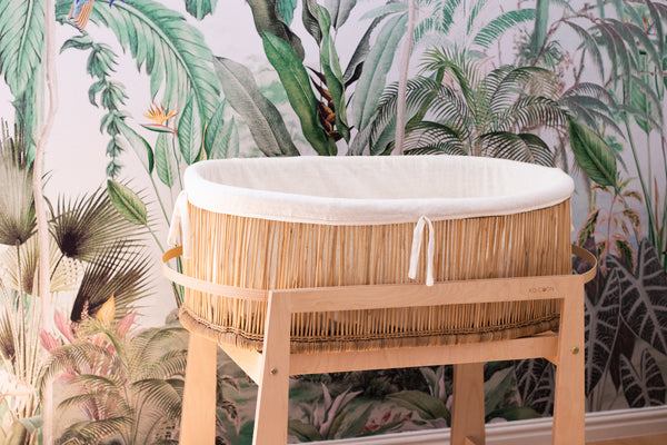 Moses basket KO-COON Ethereal bamboo collection - Zen