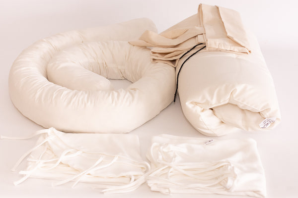 Merino Wool Nesting Pod 3-in-1 with Milky White covers (lead time 2-3 weeks)