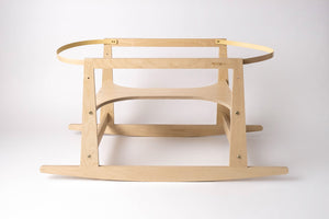 Rocking Stand 2in1 (Moses rocker / Modern Rocking Horse) – birch natural
