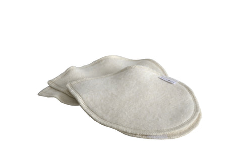 Organic Washable Nursing Pads (2 pairs)