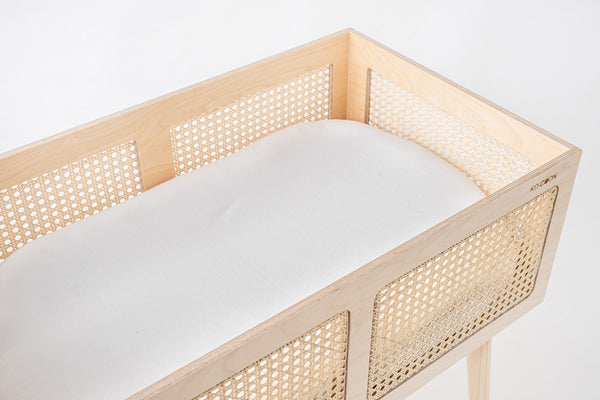 Weave, KO-COON Cane and Wood bassinet 3in1 (2 weeks lead time)
