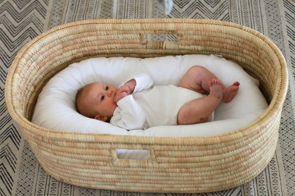 Merino Wool Nesting Pod 3-in-1 (pod + cot bumper + nesting cushion) (lead time January)