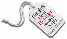 britains best retailer silver award 2010