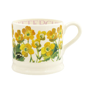 Emma Bridgewater Flowers Buttercups Small Mug, Earthenware