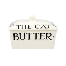 Emma Bridgewater Black Toast Small Butter Dish, Earthenware