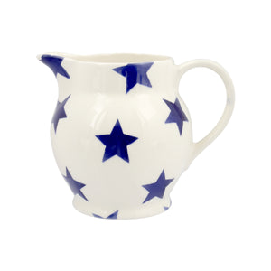 Emma Bridgewater Blue Stars Half Pint Jug, Earthenware