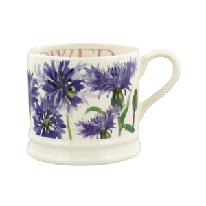 Emma Bridgewater Flowers Cornflower Small Mug, Earthenware