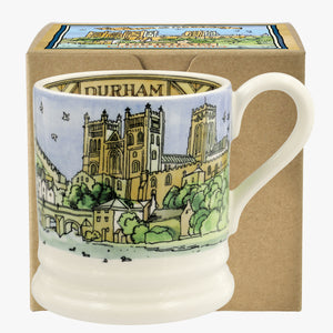 Emma Bridgewater 'Cities of Dreams' Durham Earthenware Half Pint Mug, Boxed
