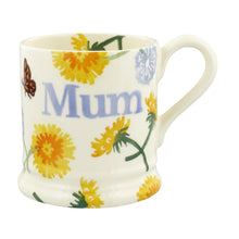 Emma Bridgewater Wildflowers Dandelion Mum Half Pint Mug, Earthenware