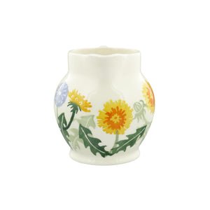 Emma Bridgewater Wildflowers Dandelion Half Pint Jug, Earthenware