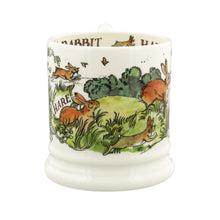 Emma Bridgewater In The Woods Rabbits & Hares Half Pint Pint Mug, Earthenware