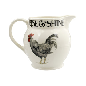Emma Bridgewater Rise & Shine Hen and Toast 1.5pt Jug, Earthenware