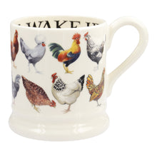 Emma Bridgewater Rise & Shine Row of Hens Half Pint Mug