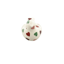 Emma Bridgewater Pink & Green Hearts Dove Shaped Candle Holder, Earthenware