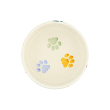 Emma Bridgewater Polka Paws Large Pet Bowl for Cats and Dogs, Earthenware