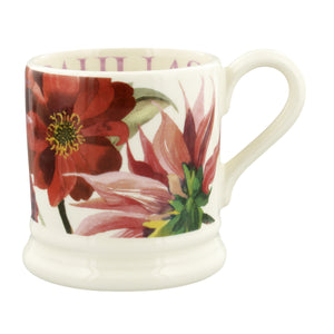 Emma Bridgewater Flowers Set of 2 Half Pint Mugs, Earthenware, Gift Boxed