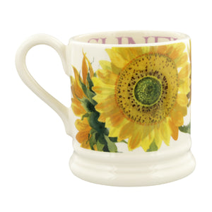 Emma Bridgewater Flowers Sunflower Half Pint Mug, Earthenware