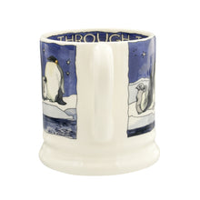 Emma Bridgewater Winter Penguins Half Pint Mug, Earthenware
