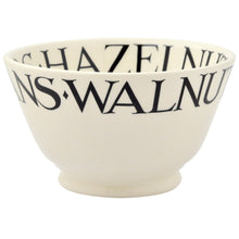 Emma Bridgewater Black Toast Nuts Old Bowl