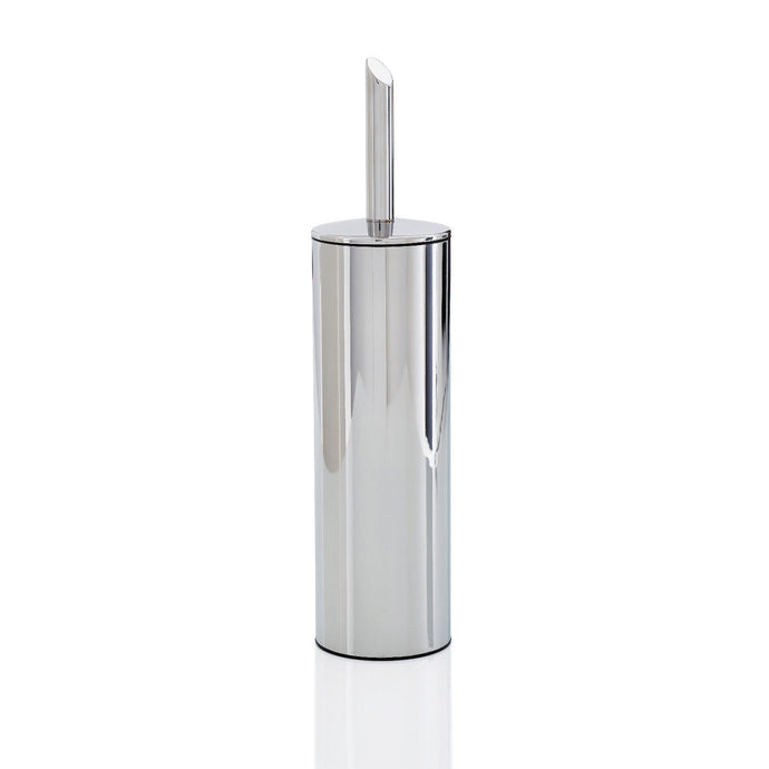 Robert Welch Oblique Toilet Brush and Holder Polished 18/10 Stainless Steel