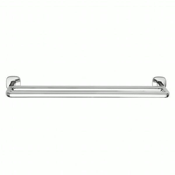 Robert Welch Burford Bathroom Towel Rail Double, Polished 18/10 Stainless Steel