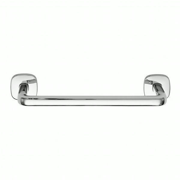 Robert Welch Burford Bathroom Short Towel Rail In Polished 18/10 Stainless Steel