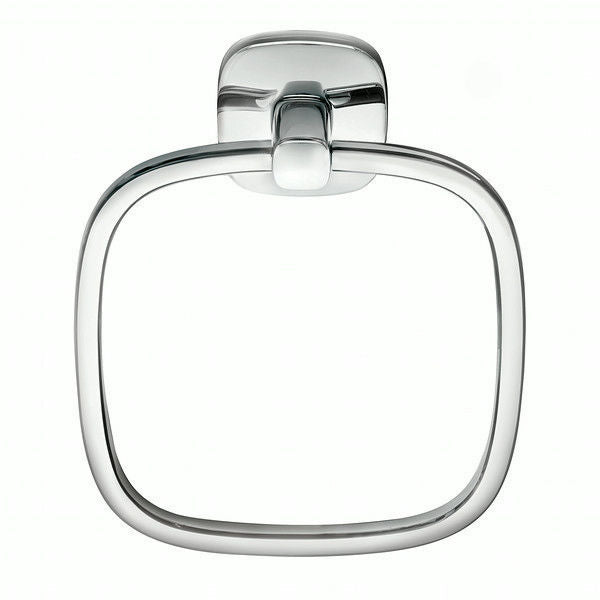 Robert Welch Burford Bathroom Towel Ring In Polished 18/10 Stainless Steel
