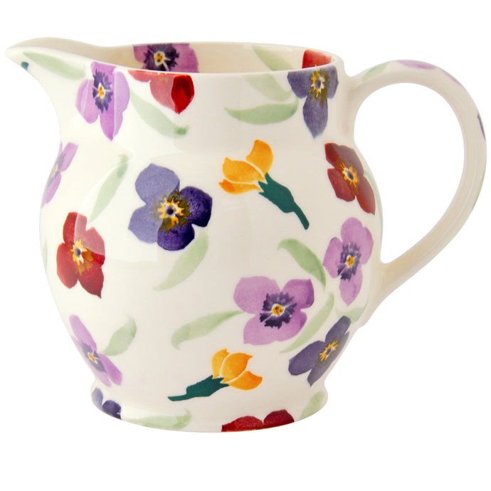 Emma Bridgewater Wallflower Earthenware One and a Half Pint Jug
