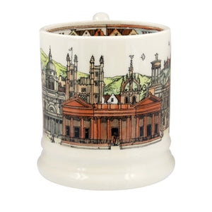 Emma Bridgewater 'Cities of Dreams' Edinburgh Earthenware Half Pint Mug, Boxed
